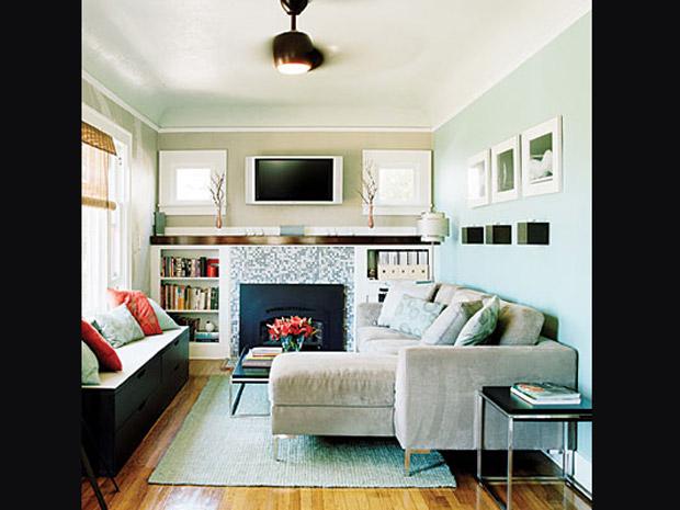 Ver todas as fotos for Salas de casas pequenas
