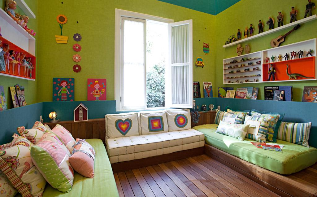 Quarto de gêmeos veja soluções de decoração  Casa  GNT