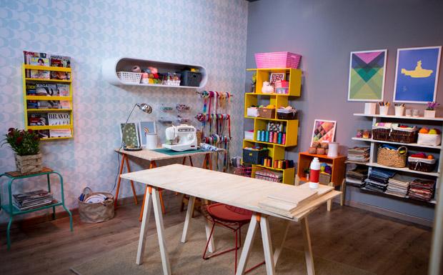 trabalhos manuais para decoracao de interiores : trabalhos manuais para decoracao de interiores:em casa: veja ideias para criar um cantinho de trabalhos manuais