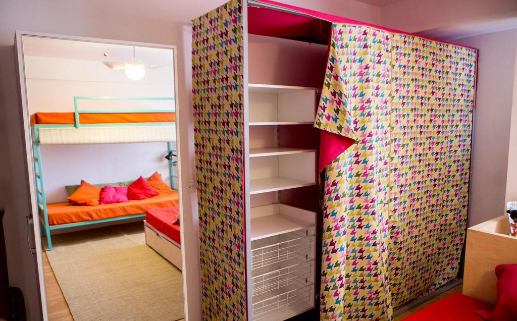 Decoração para quarto de irmãs inspire se com galeria de  ~ Quarto Planejado Para Duas Irmas