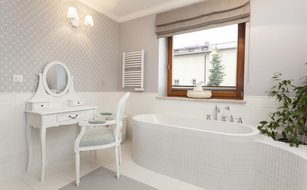 Banheiro com estilo retrô é a nova aposta da decoração; veja fotos e inspire -> Pia De Banheiro Estilo Provencal