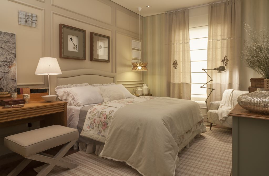 Quarto de casal oito tendências para decorar o cômodo  ~ Tendencia Cores Para Quarto