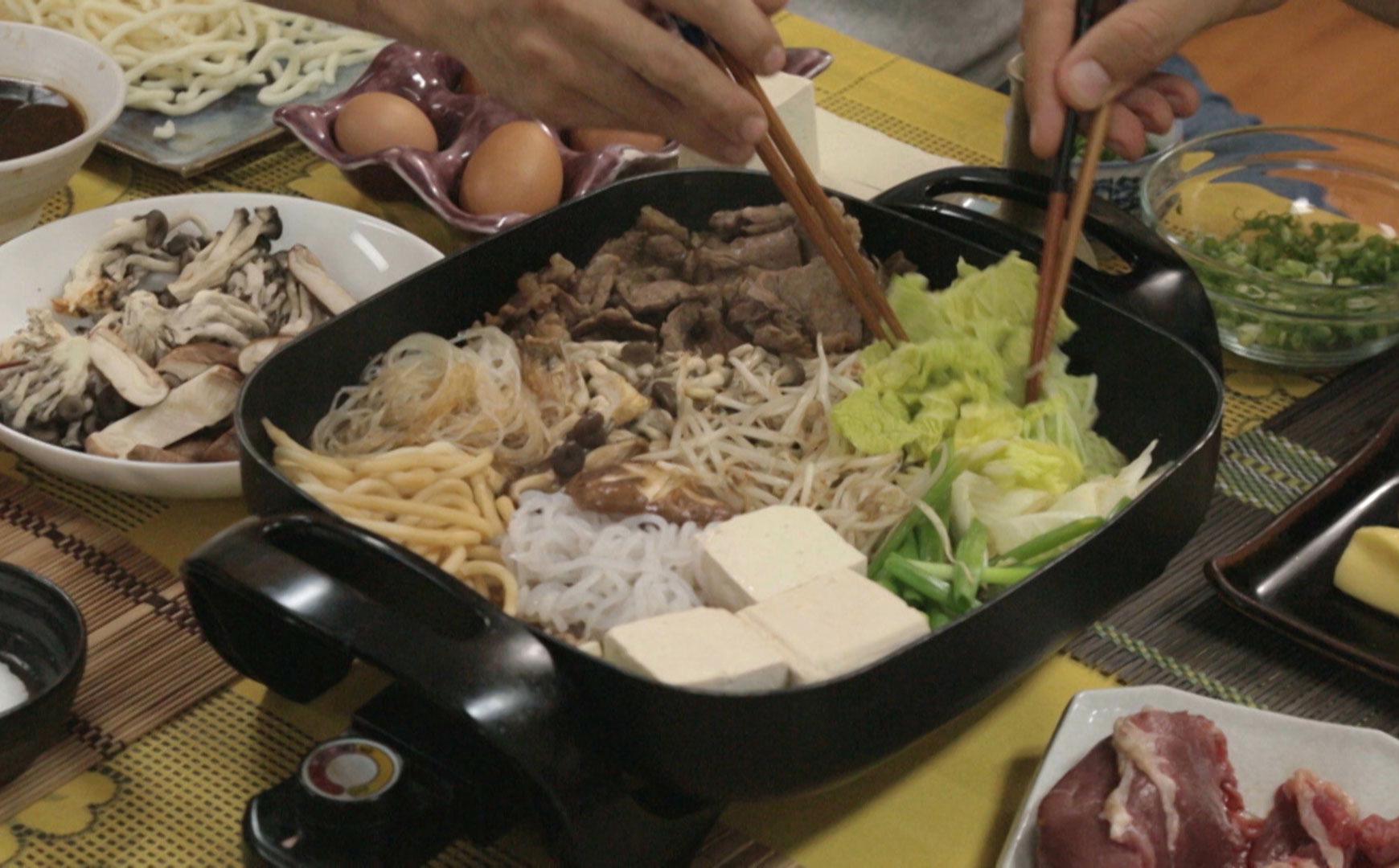 Sukiyaki: cozido japonês Tempero de Família Programas GNT #907A3C 1740 1080