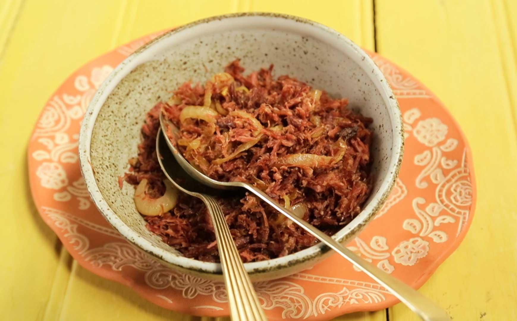 #B59216  acebolada: receita da Rita Lobo Cozinha Prática Programas GNT 1739x1080 px Projeto Cozinha Rita Lobo #2687 imagens