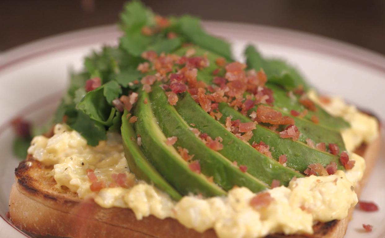 de abacate bacon e ovo Cozinha Prática Programas GNT #A47527 1242 770