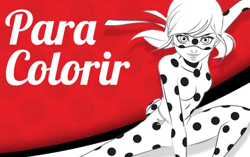 Imagens para Desenhar Ladybug