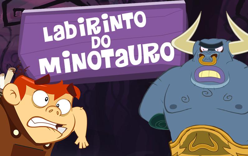 Labirinto do Minotauro Mundo Gloob
