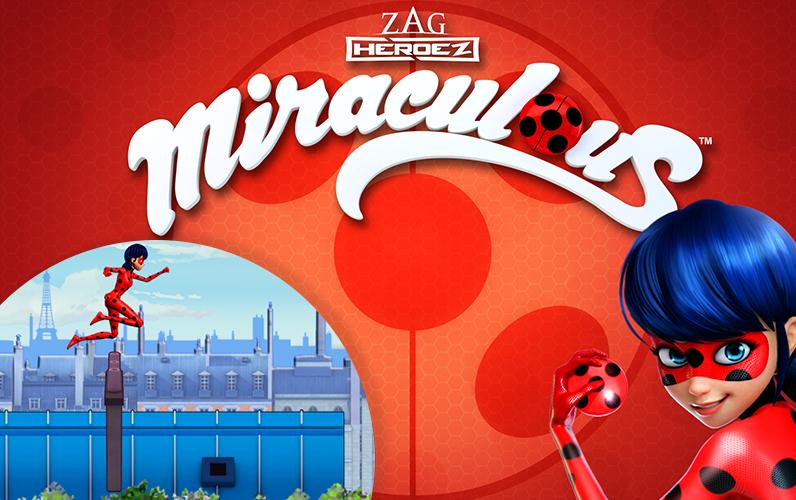 Jogo Miraculous: As Aventuras de Ladybug Online Gratis